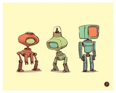 concept robots via PinCG.com