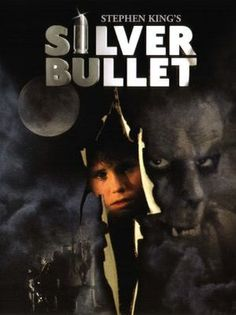 – Stephen King's Silver Bullet 1980s Horror Movies, Classic Horror Movies, Horror Movie Posters, Horror Films, Scary Movies, Good Movies, Stephen King Movies, See Movie, Silver Bullet