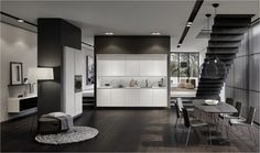 SieMatic new PURE Collection - lotuswhite #kitchen #SieMatic #new #pure #walterknoll