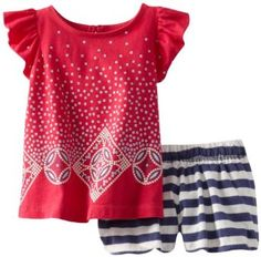 Amazon.com: Tea Collection Baby-Girls Infant Litema Baby Outfit: Clothing