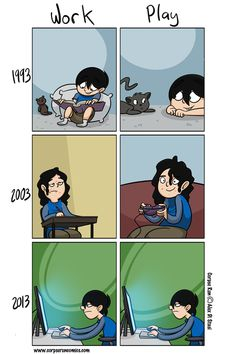 Oh how technology has improved our lives