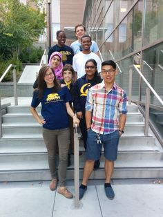 Synberc REU 2014 students on their last day at UC Berkeley after finishing a poster, formal presentation, and a scientific paper.