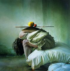 realist painting, hyper realism, hungarian artists