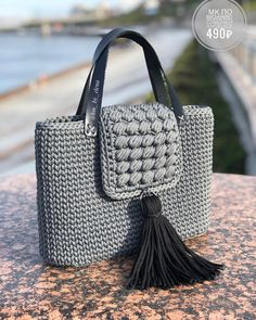 """A girl should be two things: classy and fabulous. Purse Patterns Free, Crochet Purse Patterns, Crochet Handbags, Crochet Purses, Crochet Waffle Stitch, Handbag Tutorial, Sewing Headbands, Macrame Bag, Boho Bags"