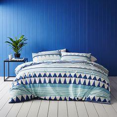 Ischia Navy Quilt Cover Set