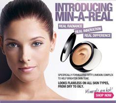 mark Magalog 6 2011 Ashley Greene & mark Min-A-Real Cream To Powder Foundation