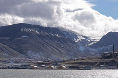 photo of svalbard island in norway in summer time