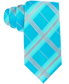 Alfani Tie, Barnegat Plaid - Mens Ties - Macy's