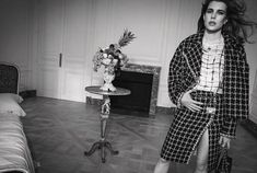 Charlotte Casiraghi, Black Strapless Dress, Bustier Dress, Tweed Dress, Belted Dress, Grace Kelly, Boutiques, Karl Lagerfeld, Saint Laurent