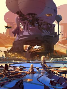 ArtStation - the bay, sparth .