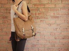 Messenger Backpack.