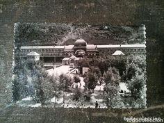 POSTAL de CANFRANC, ENTRADA A LA ESTACIÓN INTERNACIONAL 1958 - Foto 1