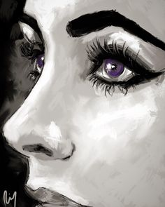 "STUDIO LRCR — My #art #arte #kunst ""purple"" #elizabethtaylor..."