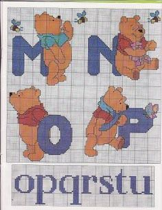 Winnie the Pooh alphabet 4 of 8