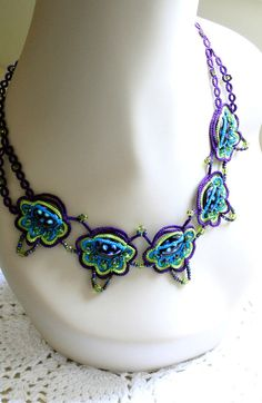 My Pretty Little Peacock Necklace