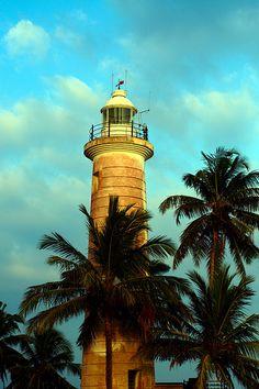 Lighthouse, Galle, Southern Province, Sri Lanka (www.secretlanka.com) #SriLanka #Galle #Lighthouse