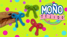 Moño tejido a crochet #2 - YouTube Crochet Necklace, Youtube, Crochet Accessories, Decorated Shoes, How To Knit, Hair Bows, Crafts, Loafers, Youtubers