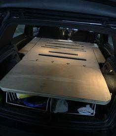 Vw Hatchback, Car Camper, Camper Conversion, Conference Room, Furniture, Ideas, Home Decor, Decoration Home, Room Decor