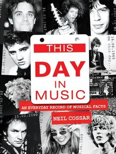 "Read ""This Day in Music: An Every Day Record of Musical Feats and Facts"" by Neil Cossar available from Rakuten Kobo. This Day In Music is the long-awaited book by Neil Cossar; a music diary presenting every day in the year listing the mo. Christopher Lawrence, Bruce Springsteen Songs, Children Of The Revolution, Top 40 Hits, Early Music, One Hit Wonder, Music Express, Rock Songs, Dj Music"