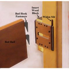 Headboard And Footboard Adapter Conversion Plates Full