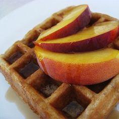 Cinnamon Belgian Waffles with Buttermilk - Allrecipes.com