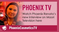 Subscribe to Phoenix TV on YouTube for makeup tutorials and to see what Phoenix Cosmetics and Phoenix herself have been up to! http://www.phoenixcosmetics.com