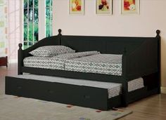 Day bed with trundle Badcock 39995 Spare room ideas