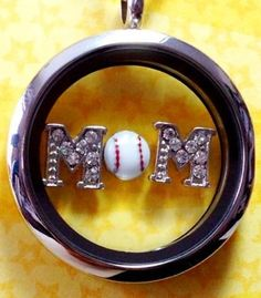 Baseball mom  Tell your story with an Origami Owl living locket Like it, place an order. Love it, host a show...Want it all, join my team!