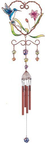 Wind Chime Copper & Gem Hummingbird Garden Decoration Hanging Decor by StealStreet, http://www.amazon.com/gp/product/B003F2S0YS/ref=cm_sw_r_pi_alp_uWzkqb1HBMRX1