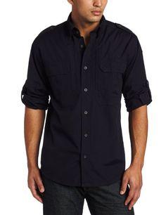 Amazon.com: Woolrich Men's Elite Tactical Long Sleeve Shirt: Clothing