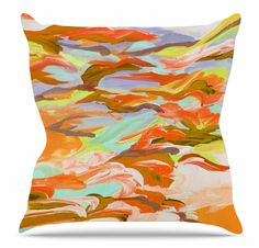 Still Up in the Air 5 Throw Pillow