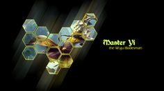 Master Yi League of Legends Wallpaper Black Background 1920×1080
