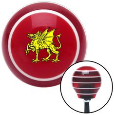 Golden Dragon Red Stripe Shift Knob with M16 x 15 Insert - Give your interior the ultimate look. American Shifter's Elite(TM) series shift knobs are made from the highest quality components resulting in a superior feel on every shift. Each shift knob is designed and customized in the USA by skilled shift knob artisans who have a trained eye on every detail. American Shifters shift knobs offers an exclusive aluminum threaded insert designed to be screwed onto your shift arm. You should avoid…
