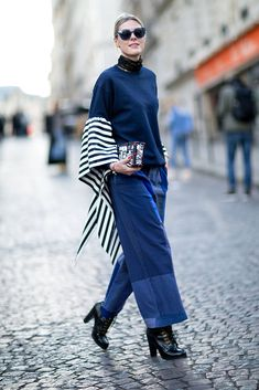 The best street style looks from outside Paris Fashion Week.