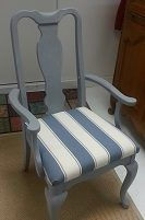 This Is One Example From The Revamp A Chair Class Chuah Crafty Nest UK  Using Autentico Chalk Paint