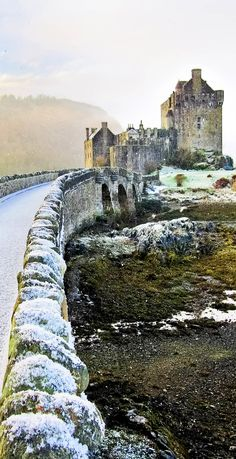 Eilean Donan Castle in Winter, Scotland -- Copyright: Javen / via shutterstock