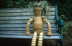 Make a Clay Pot Garden buddy-so cute!