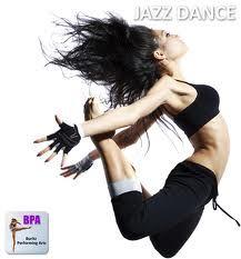 jazz dancing.