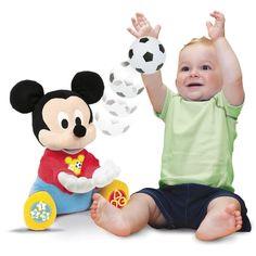 Peluche Mickey Lance-balle Clementoni 52006.0 à 17,99€ au lieu de 37,90€