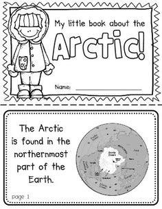 Arctic Booklet (A Region Study!)-- Use during social studies units about countries around the world! TeachersPayTeachers