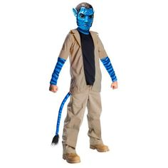 Avatar Child Jake Sully Boys Halloween Costume « Clothing Impulse