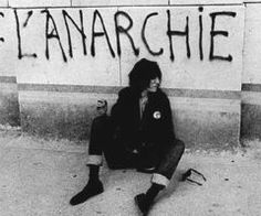 """Anarchy"" arises from ancient Greek ""An,"" meaning without and ""Archos"" meaning leader. Absence of government and absolute freedom of the individual, regarded as a political ideal. / photo patti smith"