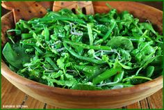 Kahakai Kitchen: Ottolenghi's Spring Salad: A Whole Bowl Full of Green Goodness