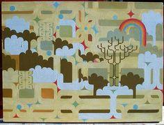 Hemi Macgregor Tane nui a rangi 2006 Maori People, Nz Art, Maori Art, Amazing Art, Awesome, Abstract Pattern, Creative Art, Printmaking, Art Projects