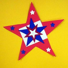 Patriotic Stars~President's Day or 4th of July