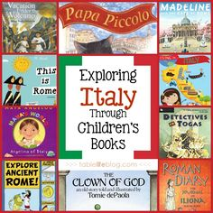 Children's Books All About Italy | Emily Copeland