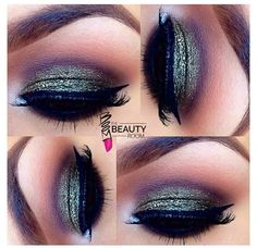 Love the color of these eye shadows together