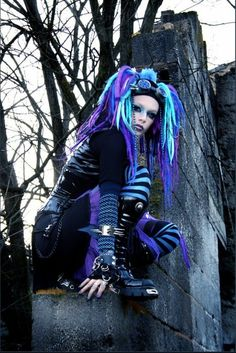 #CyberGothGirl #CyberGoth                                                                                                                                                                                 Plus