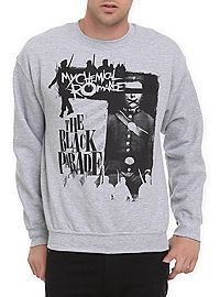 My Chemical Romance The Black Parade Crewneck Sweatshirt