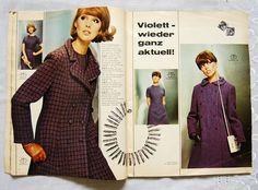Schnittmuster - 60er Neue Mode Schnittmuster 11 / 1966 - ein Designerstück von zuzsa bei DaWanda